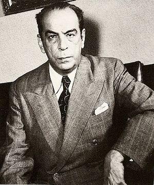 Rómulo Gallegos - Image: Rómulo Gallegos 1940s