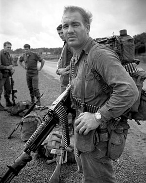 1st Australian Task Force - An Australian soldier in South Vietnam