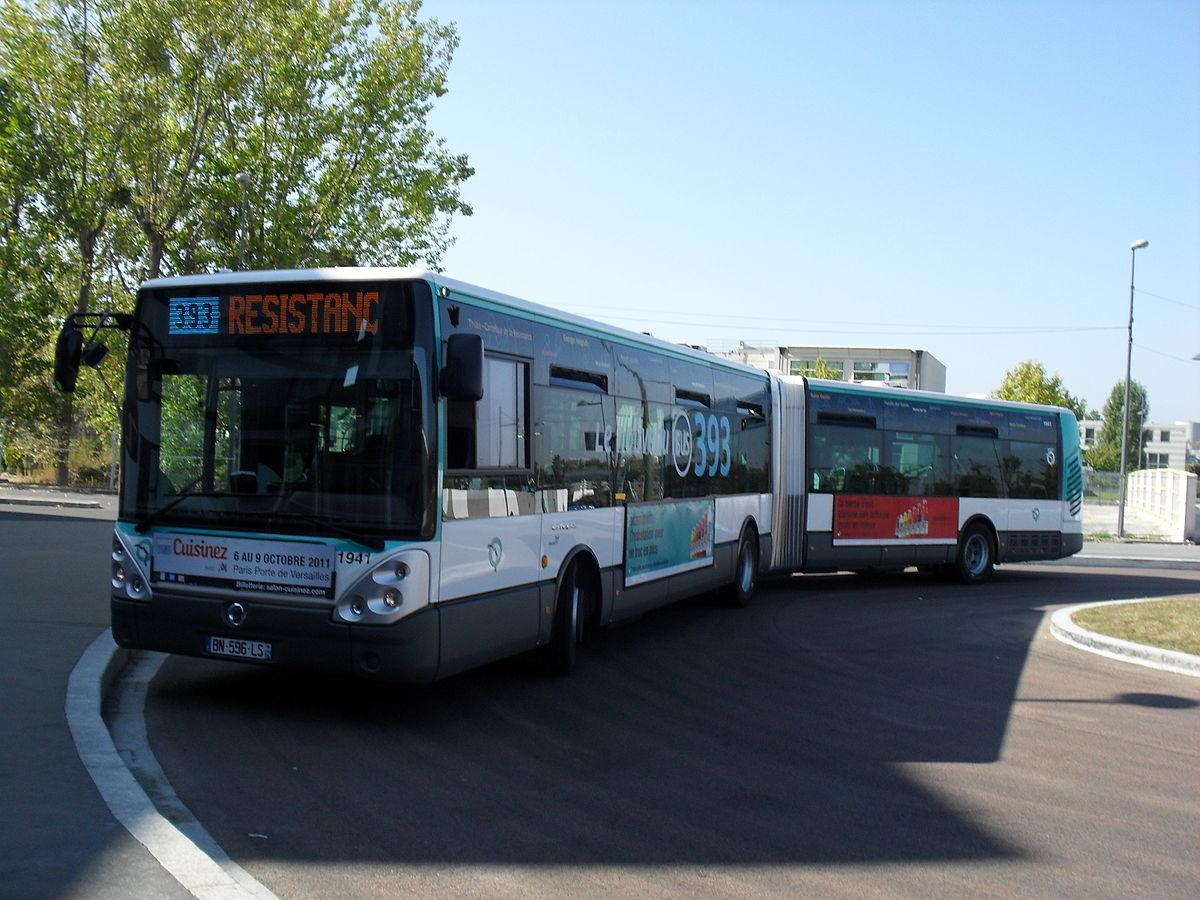 ligne de bus ratp 393  u2014 wikip u00e9dia