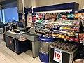 REMA 1000 Supermarket interior grocery store Tønsberg, Norway 2017-11-03 cashier checkout e.jpg
