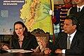 """RUEDA DE PRENSA CONJUNTA DEL VICEPRESIDENTE LENIN MORENO Y LA CANCILLER DE LA REPUBLICA MARIA FERNANDA ESPINOSA. T EMA- """"OPRTUNIDADES DEL MODELO YASNÌ-ITT"""" (PORTADA) (2057812532).jpg"""