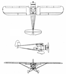 RWD 6 3 view L'Aerophile January 1933.png