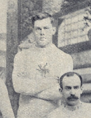 Reginald Bradley - Bradley pictured in the 1892 Ottawa Hockey club photo