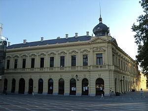 Vukovar - Image: Radnički dom u Vukovaru