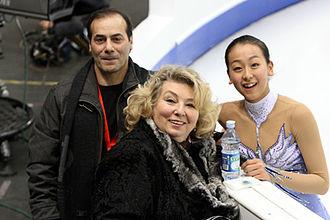Rafael Arutyunyan - Rafael Arutyunyan with Mao Asada and Tatiana Tarasova