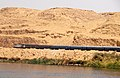 Railway along the Nile near Edfou, Egypt - panoramio.jpg