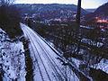 Railway line west of Weasel Hall Tunnel, Hebden Bridge - geograph.org.uk - 1736415.jpg