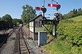 Railway signals at Llanfair Caereinion - geograph.org.uk - 1333543.jpg