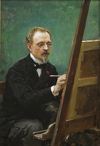 Raimundo de Madrazo y Garreta - Image: Raimundo de Madrazo Portrait of Federico de Madrazo Painting Google Art Project