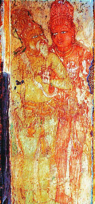 Raja Raja Chola I - Image: Rajaraja mural