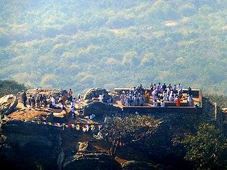 Vulture Peak - Image: Rajgir 035 Gijjhakuta from Above (9242176293)