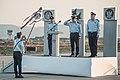 Ramat David IAF base change of command ceremony.jpg
