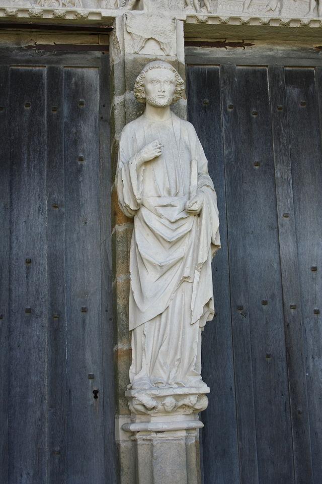 Den katolske sognekirken Saint-Eliphe i Rampillon har i sin vestportal en midtsøyle med en skulptur av Elifius