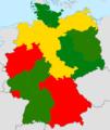 Rauchverbote der Bundesländer (Gastronomie).png