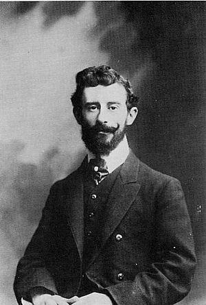 Photographie du compositeur français Maurice Ravel