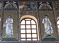 Ravenna, sant'apollinare nuovo, int., storie cristologiche, epoca di teodorico 01.JPG