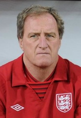 Ray Lewington - Lewington with England in 2012
