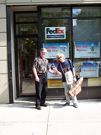 Magic City Jazz Orchestra - MCJO's founding director Ray Reach (left) with Lou Marini in New York, 2004.