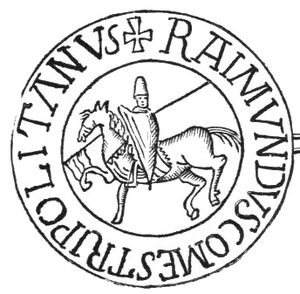 Raymond II, Count of Tripoli - His seal