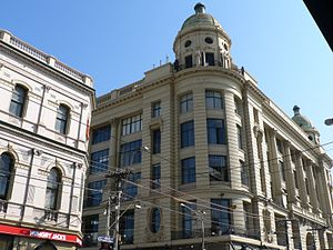 "Prahran, Victoria - Former Read's Emporium now ""Pran Central"" on the corner of Chapel Street and Commercial Road"