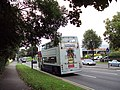 Rear of bus, Pershore Road South, Kings Norton.JPG