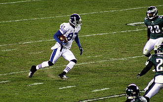 Reggie Wayne - Wayne playing against the Philadelphia Eagles during the 2010 season.