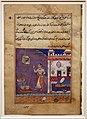 Regno moghul di akbar, storie di un pappagallo (tuti-nama) 01, il pappagallo va da khujasta all'inizio della 29ma notte1560 ca.jpg