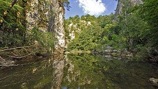 Fluss in Slowenien