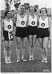 Relay team Germany 1938 European Athletics Championships