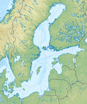 Königsberg is located in Baltic Sea