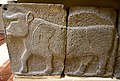 Relief orthostat showing a bull. From Sam'al citadel. 9th century BC. Museum of the Ancient Orient, Istanbul.jpg