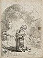 Rembrandt - São Jerônimo em Oração, 1632.JPEG