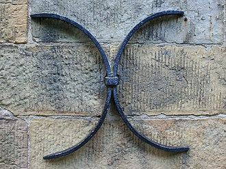 Anchor plate - Image: Remscheid Lennep Stadtkirche 04 ies