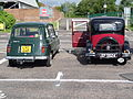 Renault 4TL 1975 with Austin 10-4 1933 (14088376938).jpg