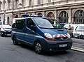 Renault Trafic gendarmerie nationale, septembre 2013 Paris.JPG
