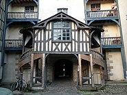 Rennes Grande maison des Carmes escalier
