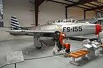 Republic F-84E Thunderjet '92155 - FS-155' (26008332466).jpg