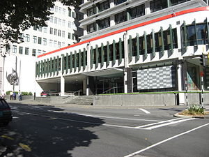 Lender of last resort - The Reserve Bank of New Zealand in Wellington