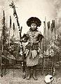 Retrato de índio com arco e flechas - Vincenzo Pastore.jpg