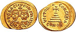 Revolt of the Heraclii solidus, 608 AD.jpg