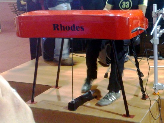 Rhodes Mark 7 (rear), Expomusic 2010