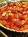 Rhubarbed Strawberry Daiquiri Vegan Tart Undressed (4922766328).jpg
