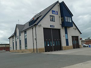 Rhyl Lifeboat Station - The Boathouse of Rhyl Lifeboat Station