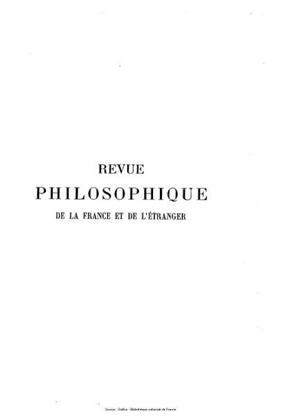 File:Ribot - Revue philosophique de la France et de l'étranger, tome 58.djvu