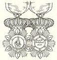 Ridder in de Orde van Sint-Ferdinand en de Verdienste Napels 1800.jpg
