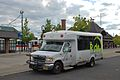 Ride Connection minibus at Hillsboro TC in 2014.jpg
