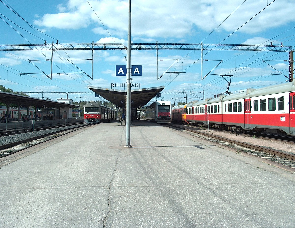 Tampere Rautatieasema Raiteet