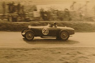 1937 Donington Grand Prix - Percy Maclure, Riley
