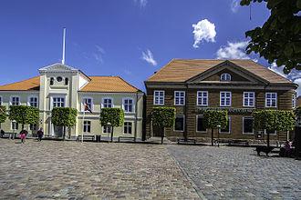 Ringkøbing Landbobank - Image: Ringkjøbing Landbobanks hovedkontor 1