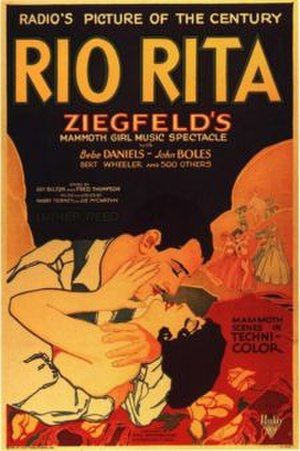 "RKO Pictures - Rio Rita (1929), first smash hit for RKO (then releasing films under the ""Radio Pictures"" banner)"